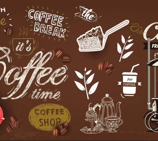 Фотошпалери кавова тематика 28021