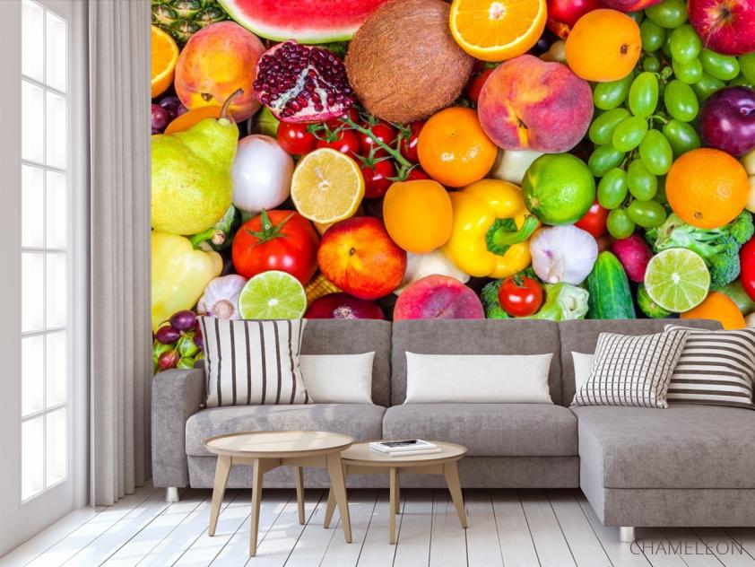 Фотообои фрукты и овощи - 3