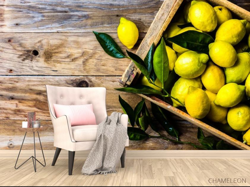 Фотообои лимоны - 4