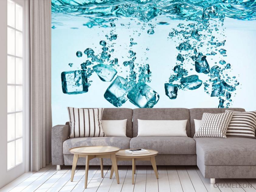Фотообои Лёд, вода - 3