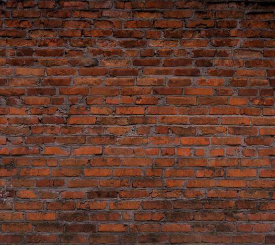 Фотошпалери Темно коричнева цегляна стіна 20264