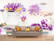 Фотообои в кухню Цветы - 1
