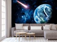Фотообои Земля и комета - 3