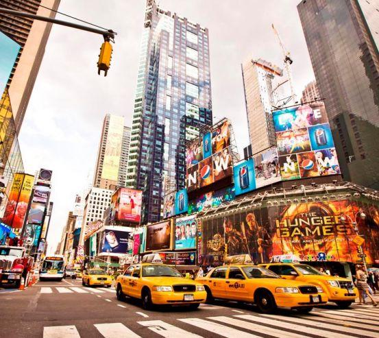 Фотообои Реклама, такси, Гонконг 9802
