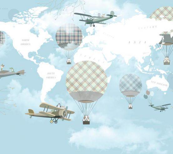 Фотообои Воздушные шары 19927