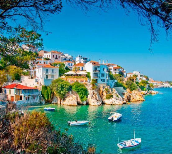 Містечко в Греції 5884