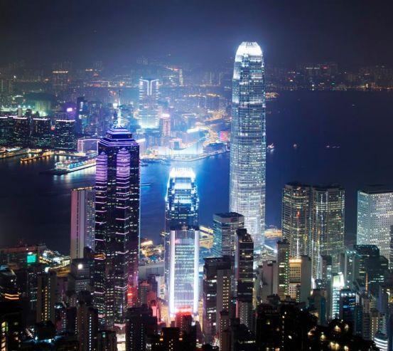 Фотообои Вид сверху, Гонконг 12531