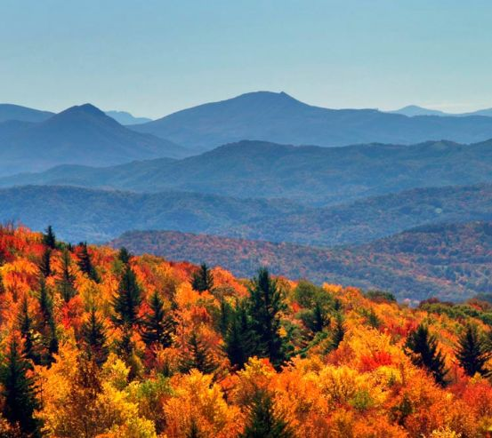 Фотообои Осення сказка гор 5101