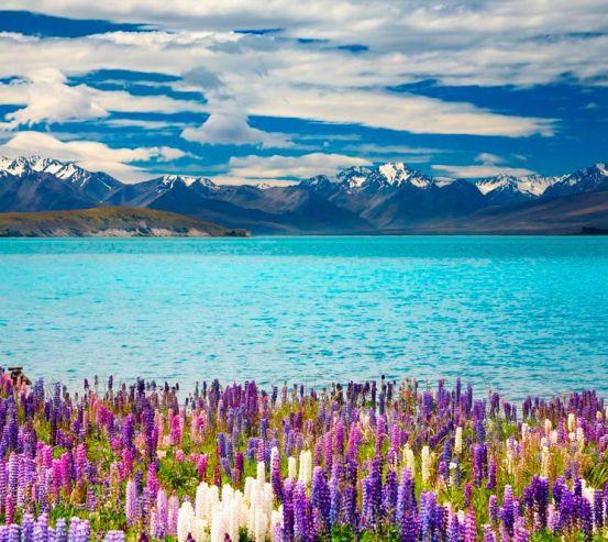 Фотообои Сказочная страна, горы 3493