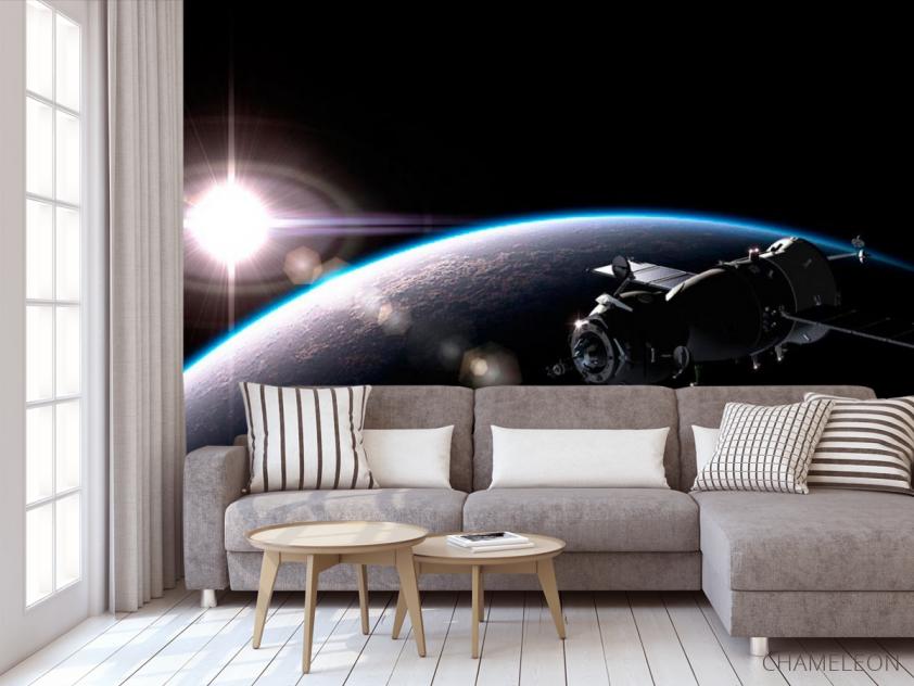 Фотообои Спутник и планеты - 3
