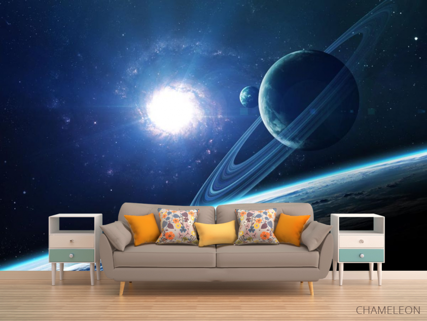 Фотообои планеты и сияние - 1
