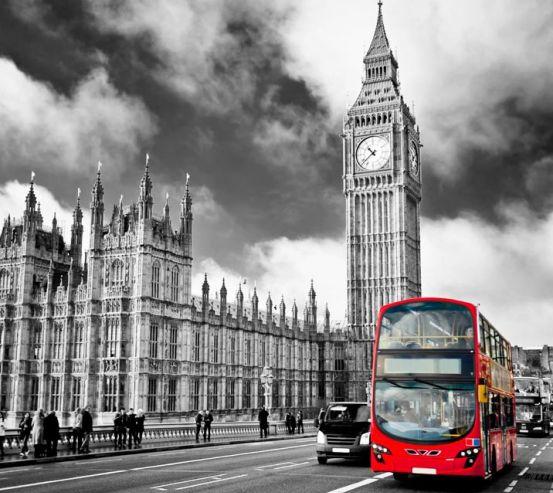 Фотообои Автобус в лондоне 10616