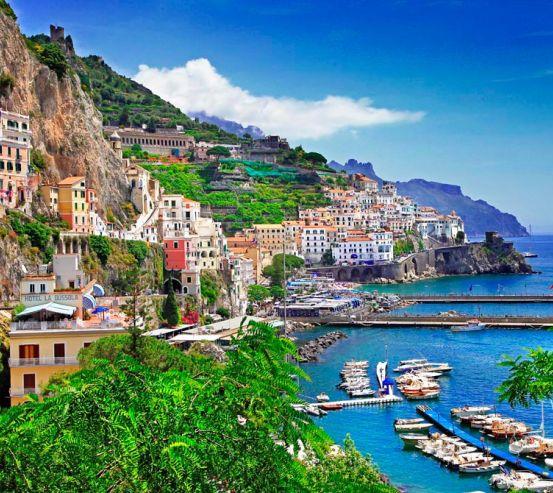 Фотообои Позитано, Италия 11005