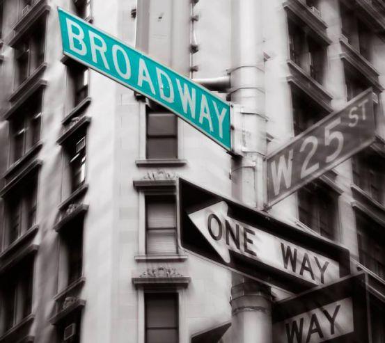 Фотообои Указатели в Нью-Йорке 12971