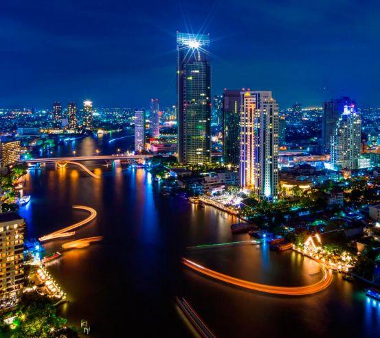 Фотообои Вид сверху город  12158