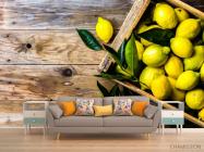 Фотообои лимоны - 1