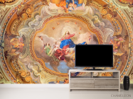 Фотообои Античная фреска на потолок - 2