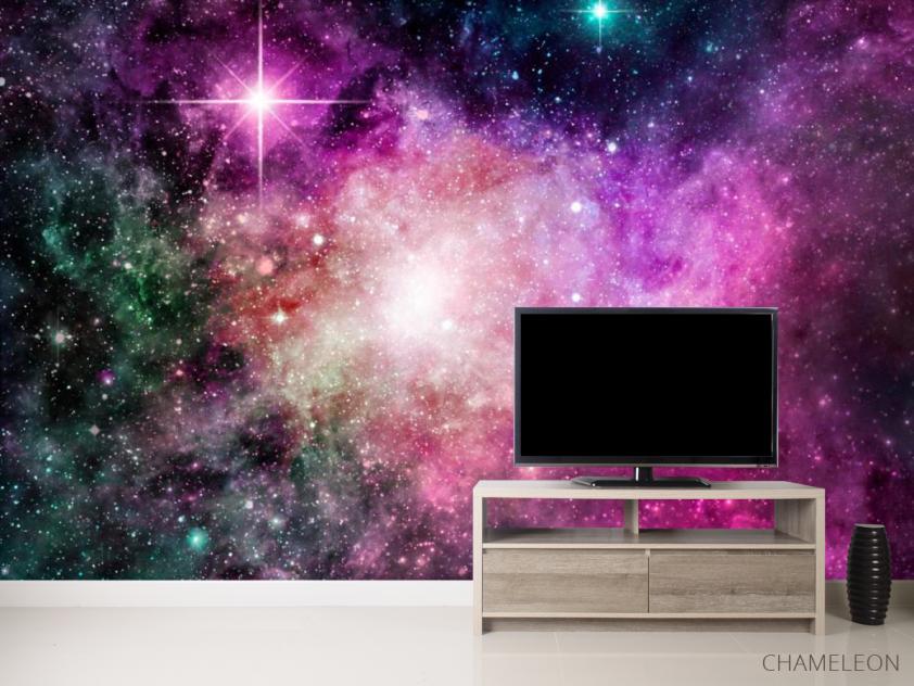 Фотообои Фиолетовая туманность - 2