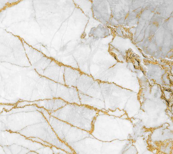 Фотошпалери білий мармур з золотом 27718
