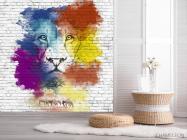 Фотообои Акварельный лев - 2