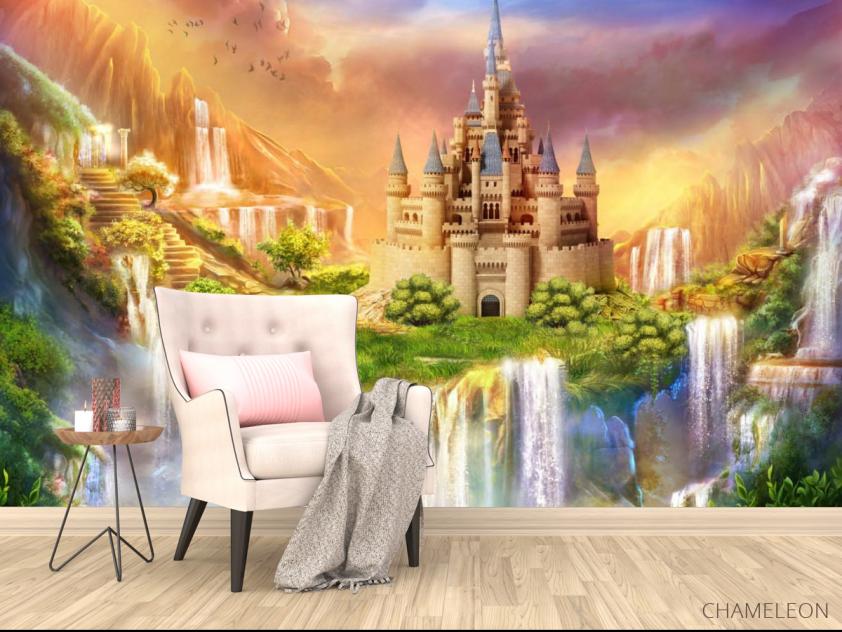 Фотообои Сказочный замок - 4