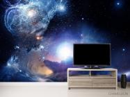 Фотообои космос с яркой звездой - 2