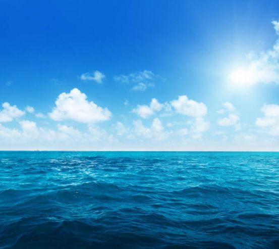 Фотообои Море с облаками 28435