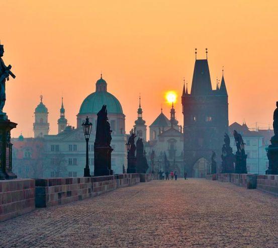 Фотообои Прага, Карлов мост 8909