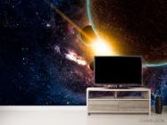 Фотообои Галактика и планеты - 2