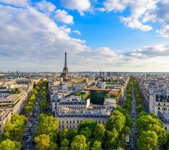 Фотообои лето в Париже 21673