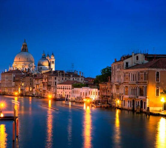 Фотообои Ночная Венеция 0251