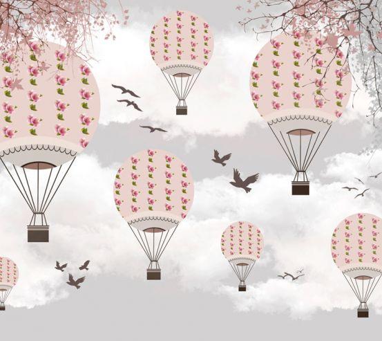 Фотошпалери Рожеві повітряні кулі 24080