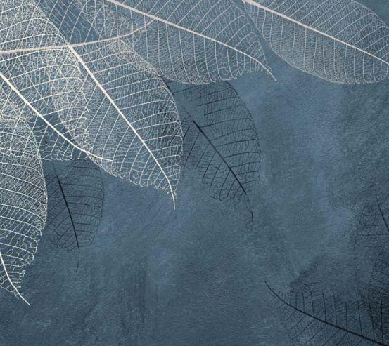 Фотообои Листья с потолка 22425
