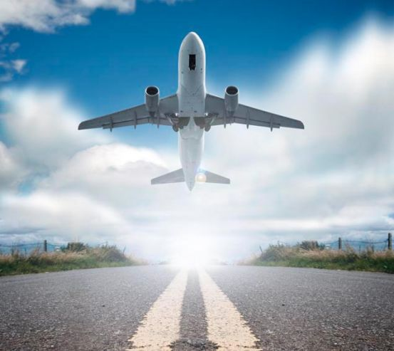 Фотообои Взлет самолета 0949