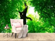 Фотообои Большое,зеленое дерево - 4