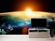 Фотообои Земля и солнце - 2