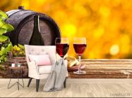 Фотообои вино в бочке - 4