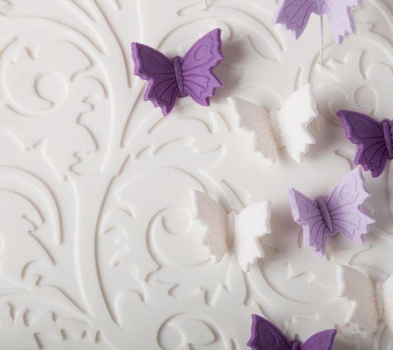 Фотооои объёмные бабочки 21239