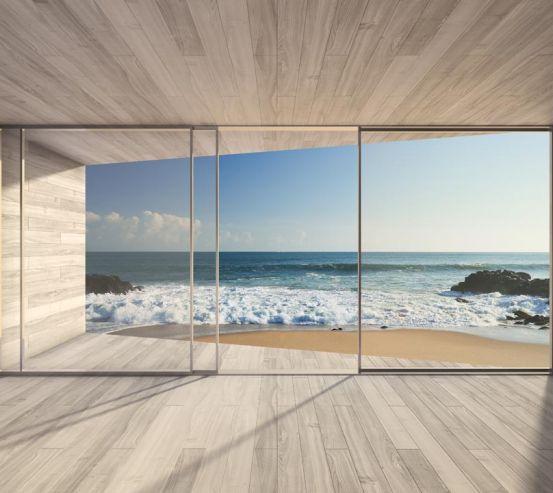 Фотообои Волны за окном 20867