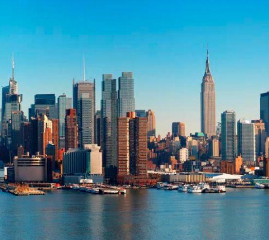 Фотообои Причал для яхт Нью-Йорка 0022