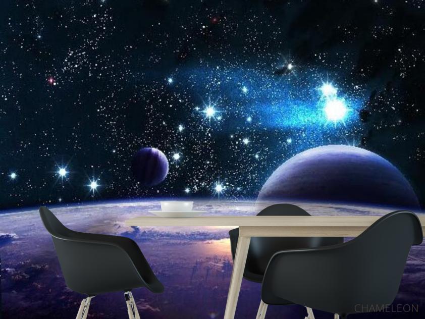 Фотообои Звездные планеты - 1
