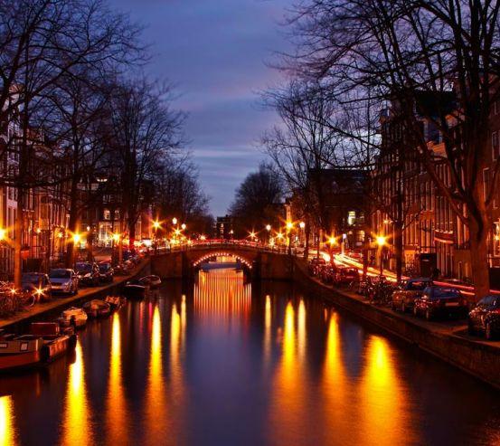 Фотообои Ночная Венеция 8516