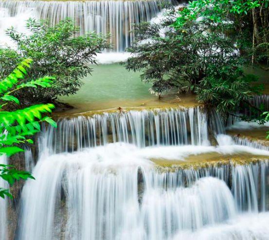 Фотообои Много водопадов 8310