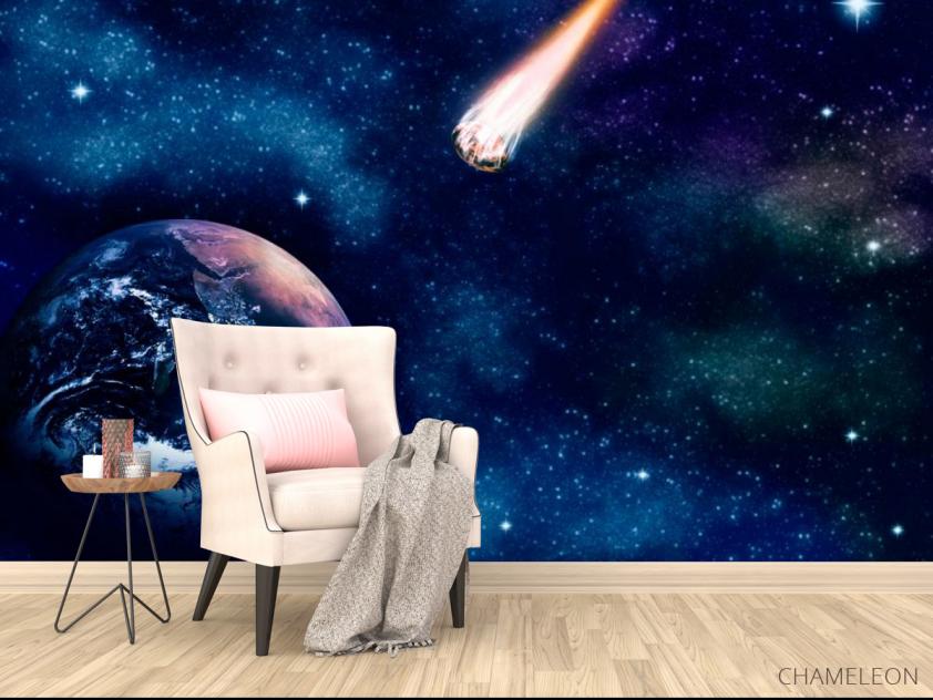 Фотообои Земля и комета - 4