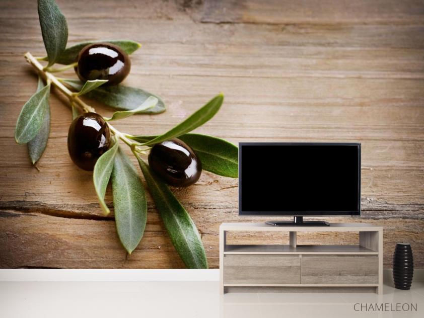 Фотообои оливковая веточка - 2