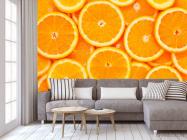 Фотообои Нарезанные апельсины - 3