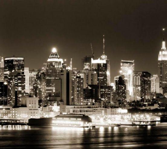 Фотообои Огни ночного города 11979
