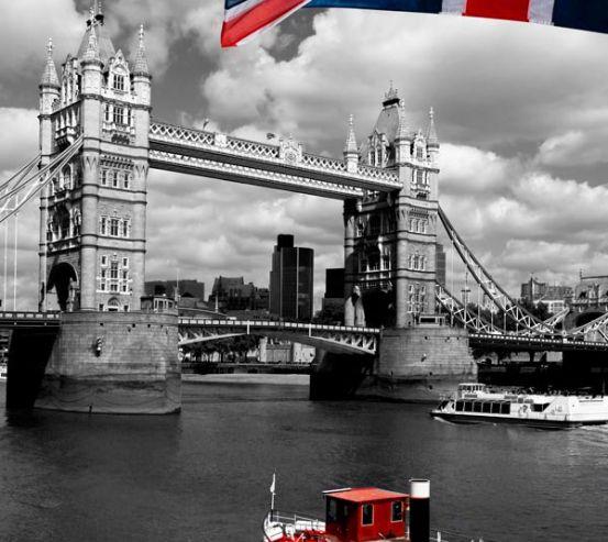 Фотообои Лондон, флаг 12120