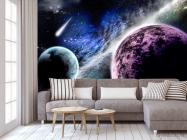 Фотообои Планеты и метеорит - 3