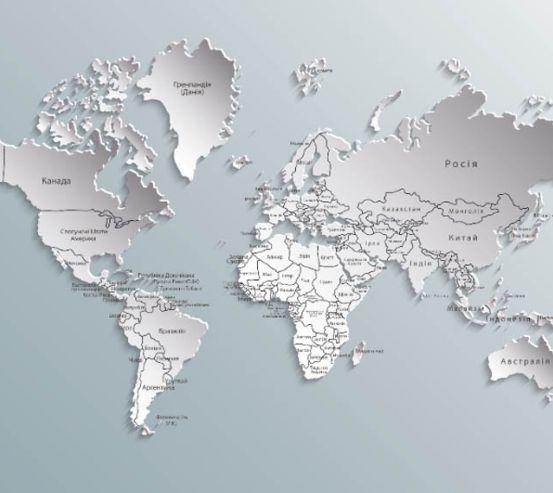 Фотошпалери Карта 19555